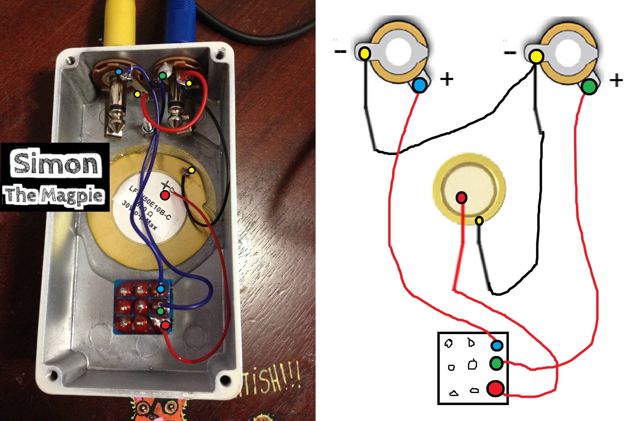 Simon The Magpie Inside Pedalboard Door Stopper Wiring Diagram