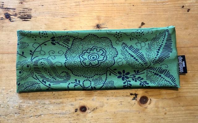 Fru Johanna grön pannband