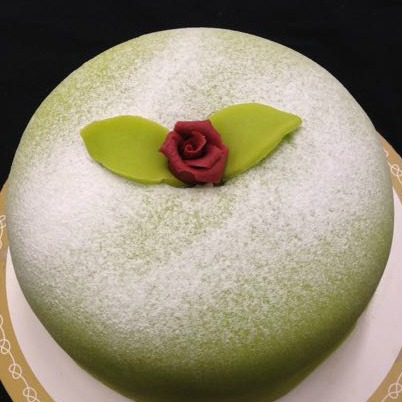 Prinsesstårta grön