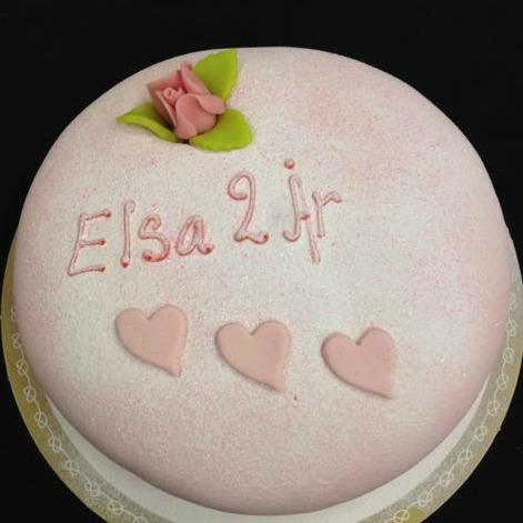 Text tårta