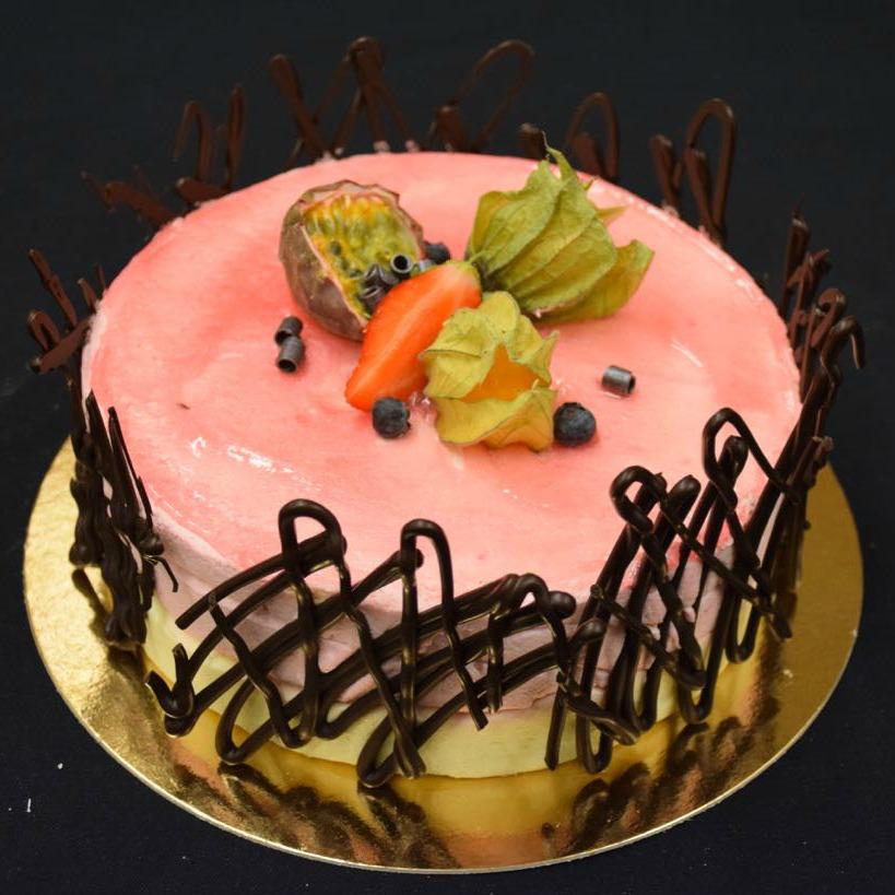 Moussetårta rosa