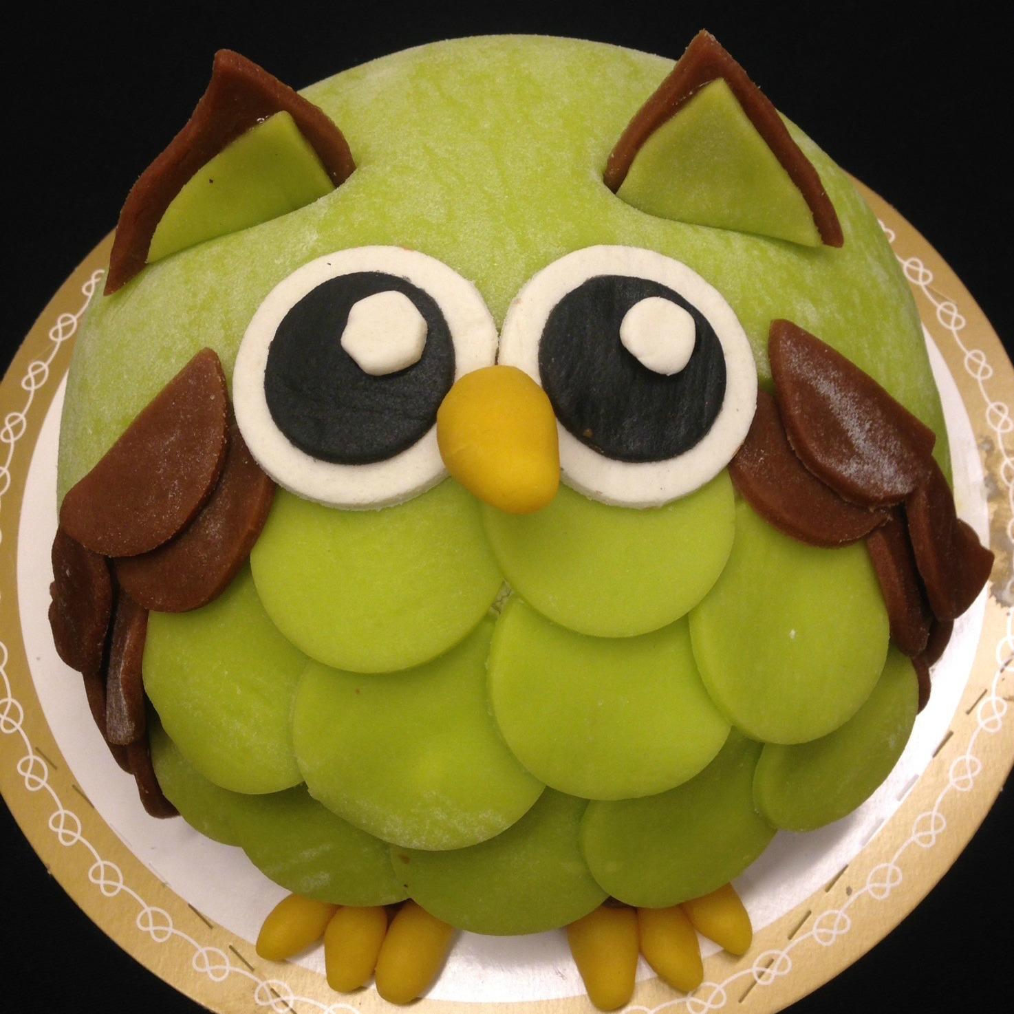 Uggla tårta