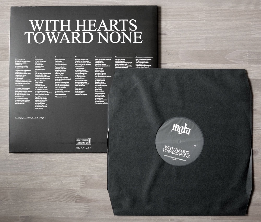 Mgla With Hearts Toward None Lp Lamech Records