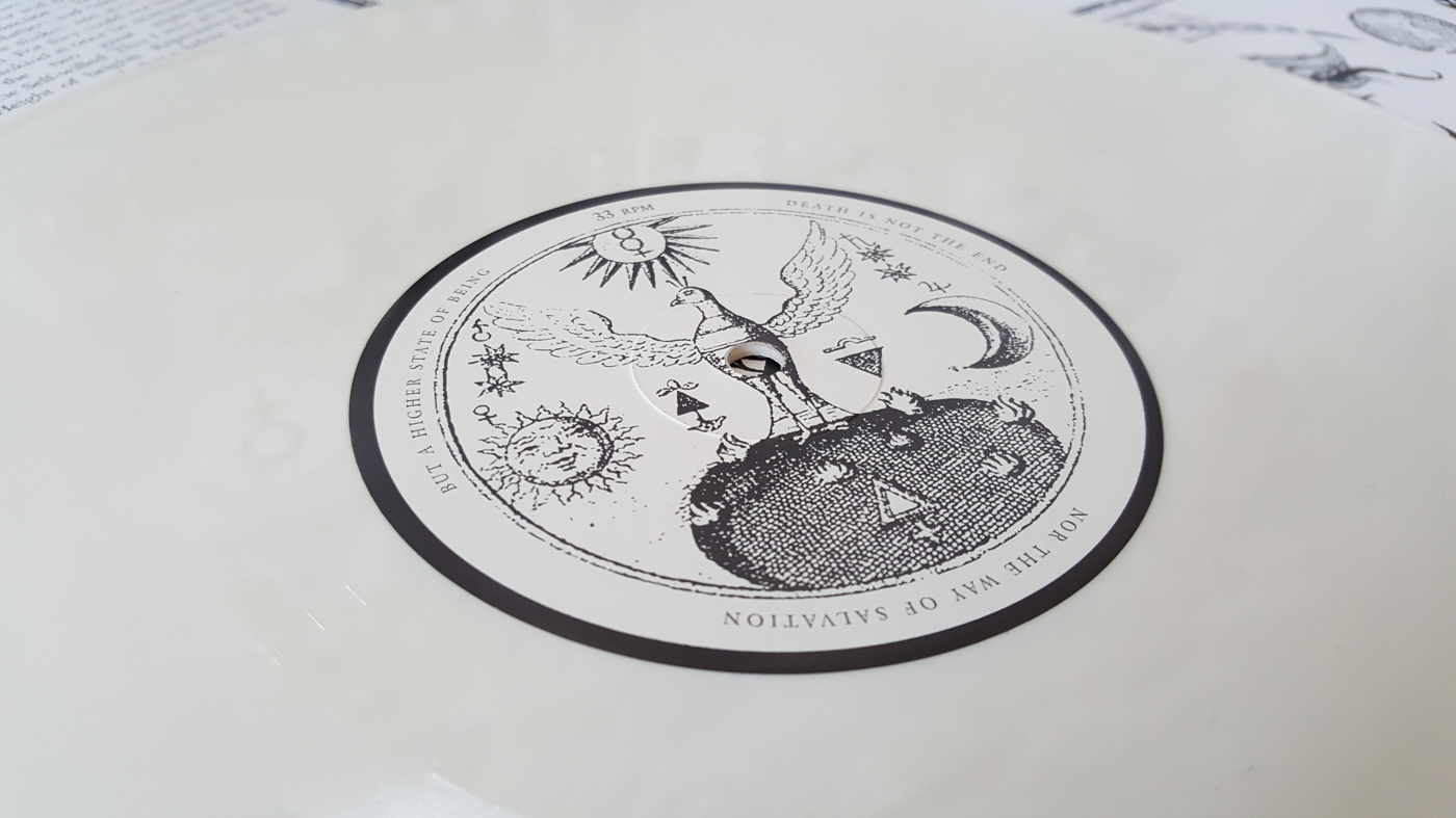 Coloured edition: White vinyl