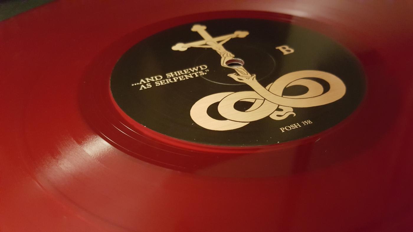 Transparent red vinyl