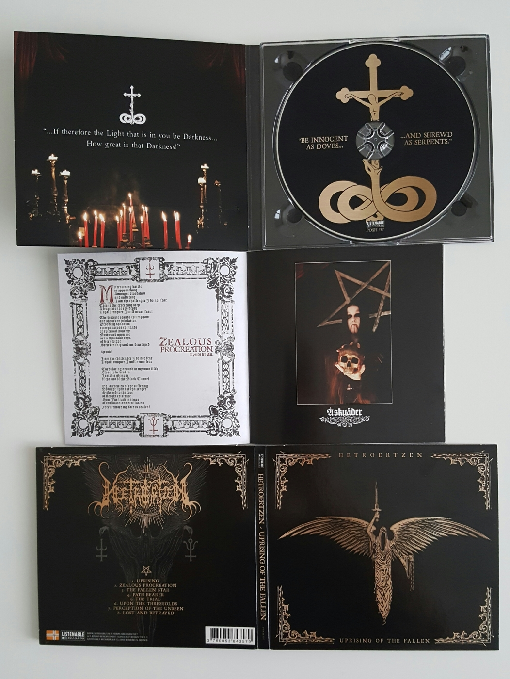 Uprising of the Fallen CD