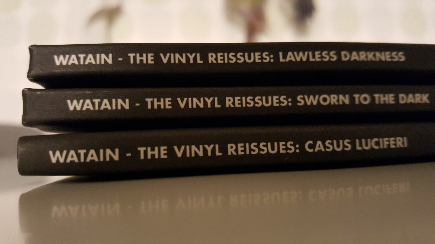 Watain - vinyl reissues