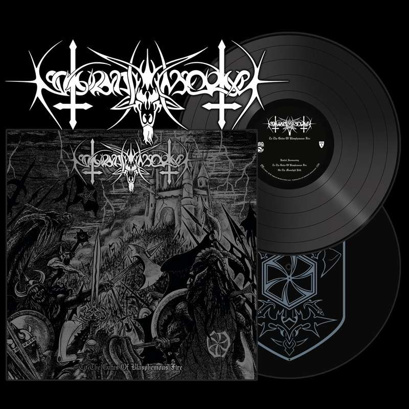 NOKTURNAL MORTUM - To The Gates of Blasphemous Fire - Ltd Gatefold Double LP