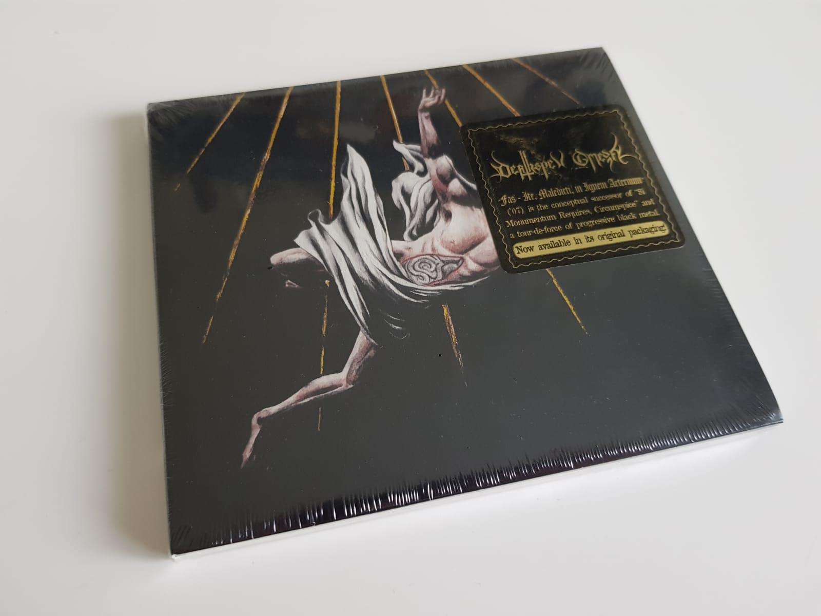 """DEATHSPELL OMEGA – """"Fas - Ite, Maledicti, in Ignem Aeternum"""" CD"""