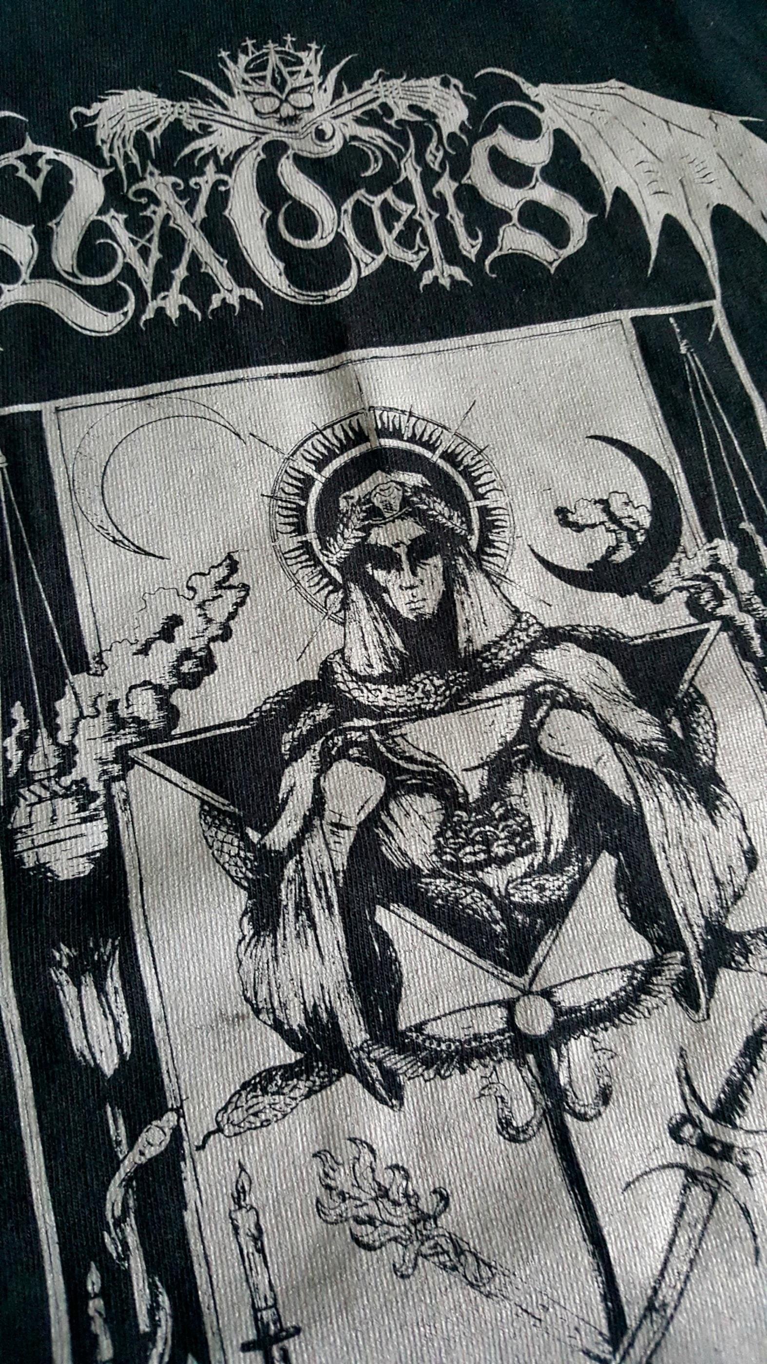 LVXCAELIS - Liberation - limited T-shirt w/ silver print