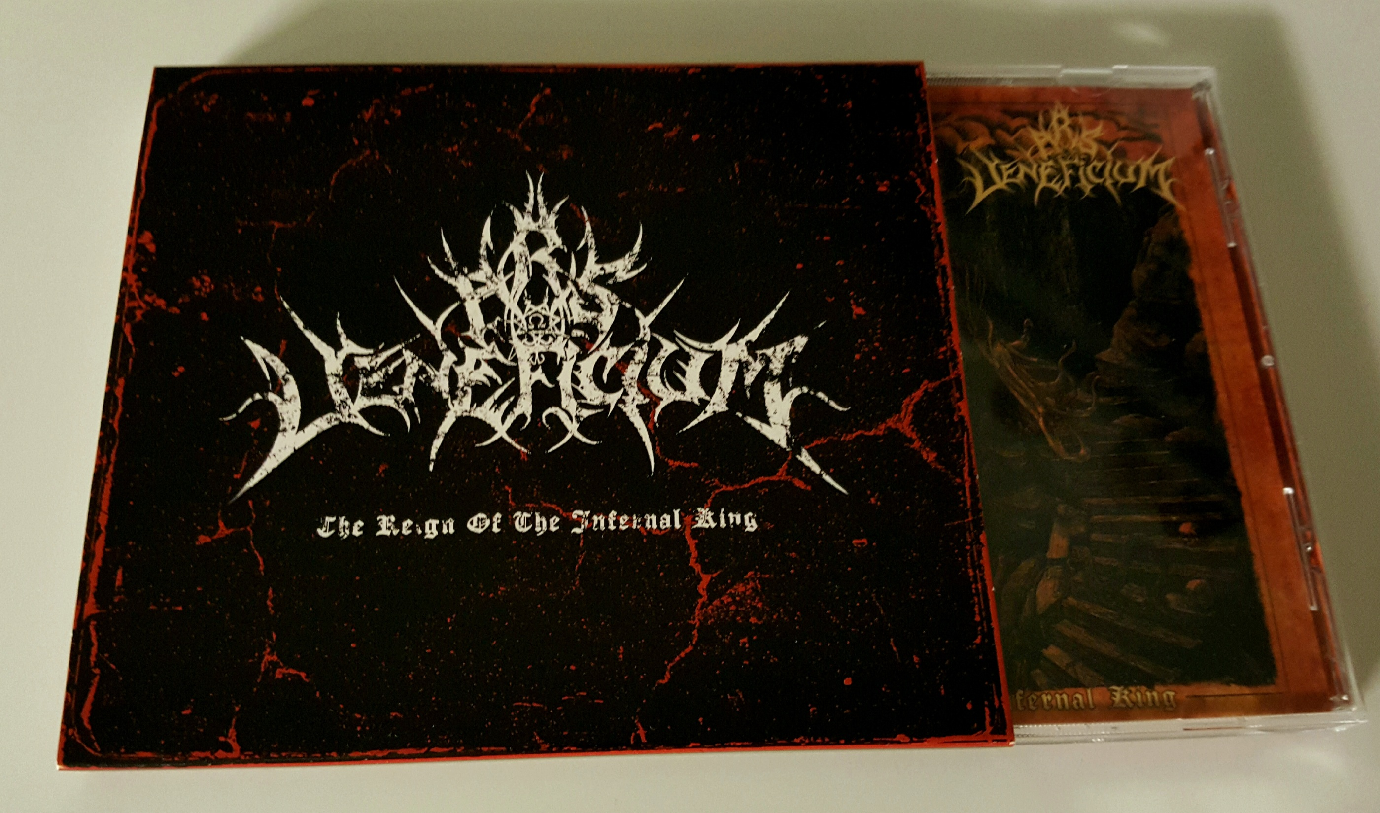 "ARS VENEFICIUM –""The Reign Of The Infernal King"" 12"" CD w/ slipcase"