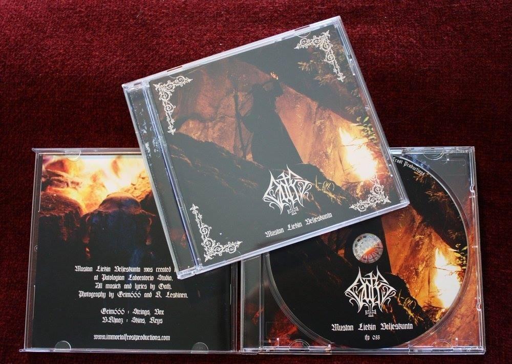"""OATH – """"Mustan Liekin Veljeskunta"""" CD"""