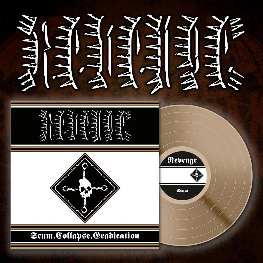 "REVENGE Scum. Collapse.Erradication 12"" LP"