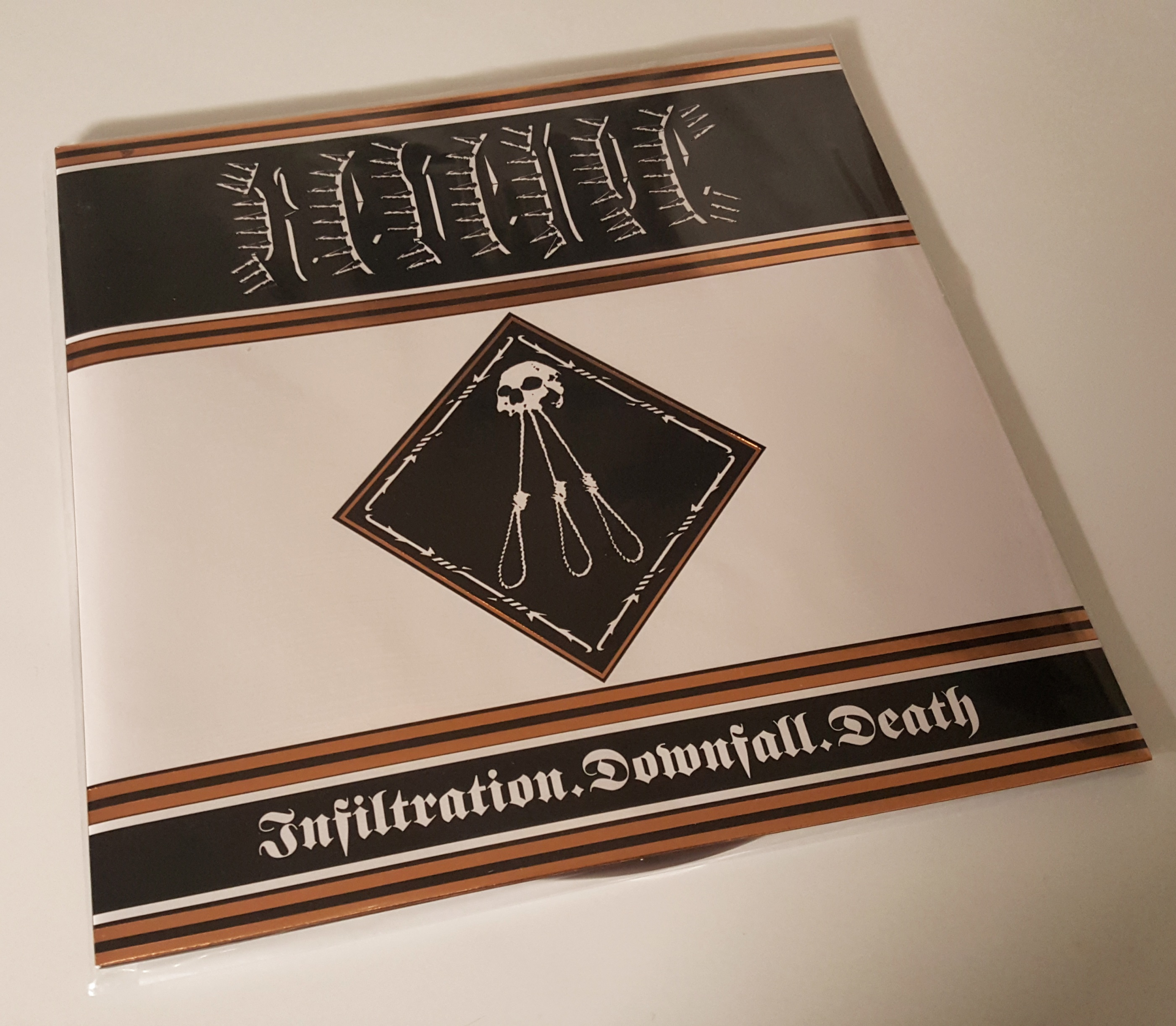 "REVENGE Infiltration. Downfall. Death 12"" LP"