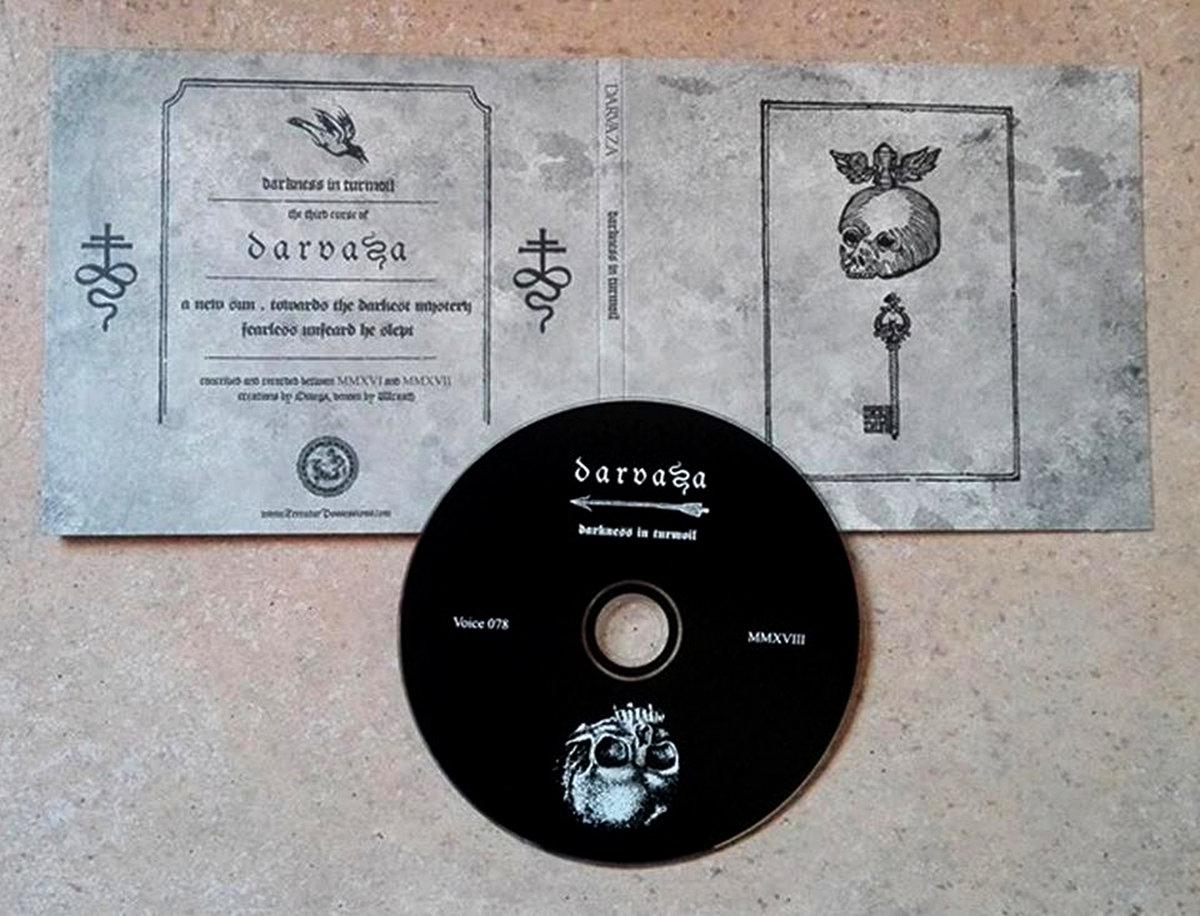 DARVAZA – Darkness In Turmoil Digipack CD