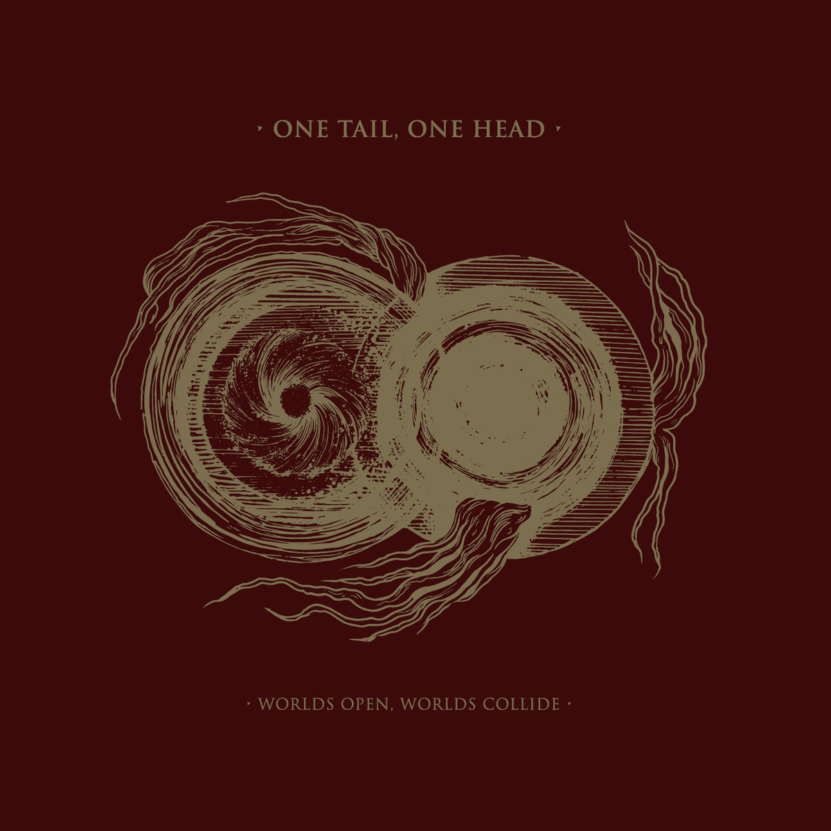 "ONE TAIL ONE HEAD – Worlds Open, Worlds Collide 12""LP"