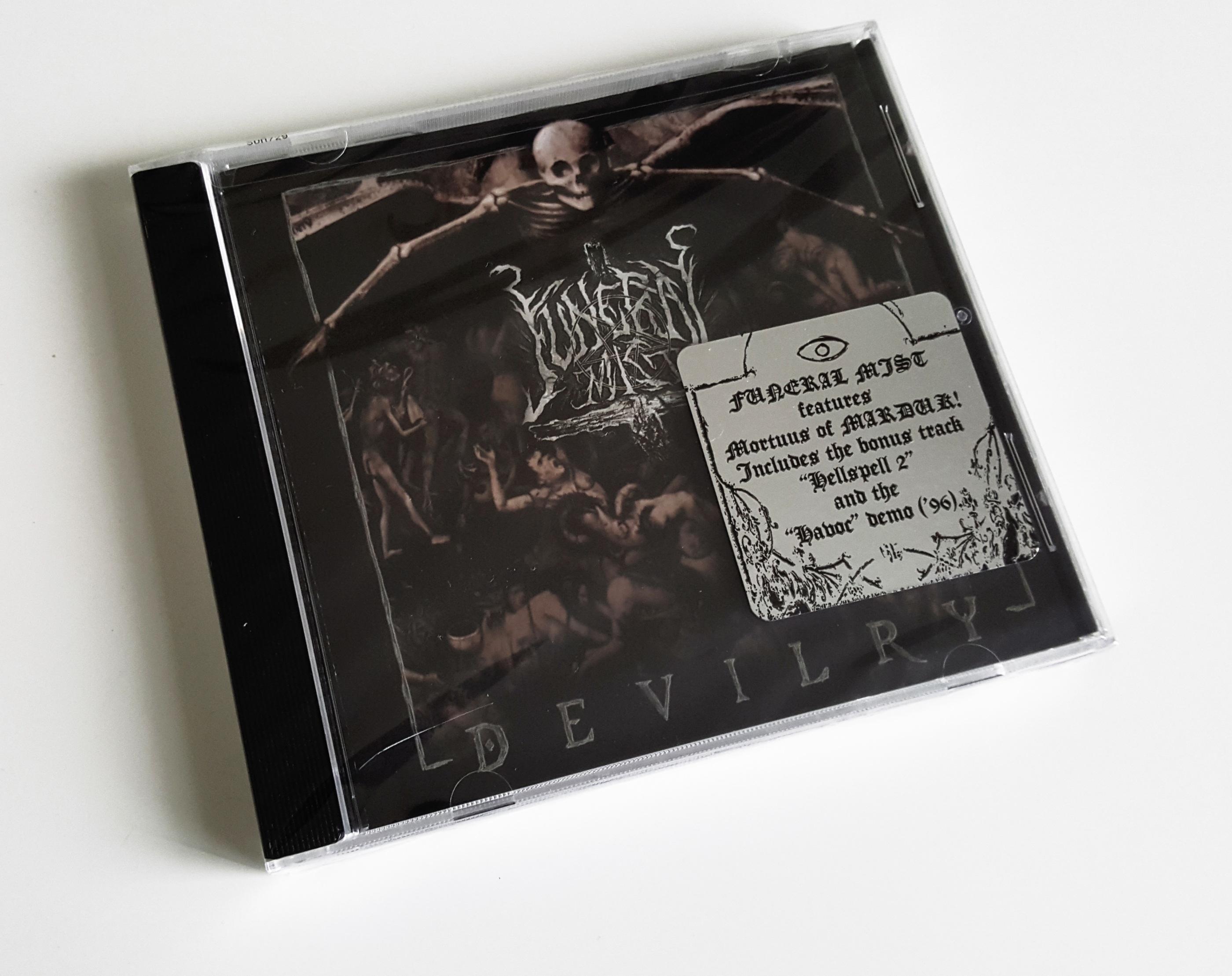 "FUNERAL MIST – ""Devilry"" CD (RESTOCK!)"