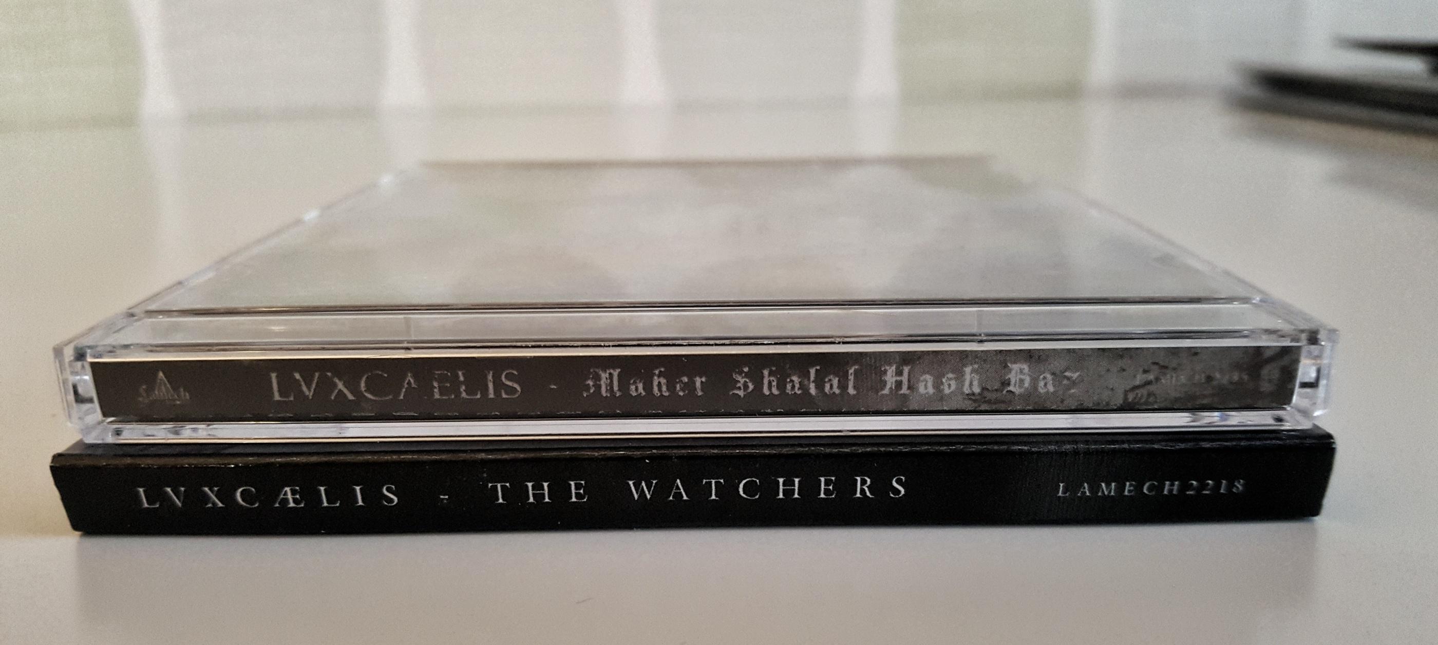 LVXCAELIS - 2 CDs BUNDLE