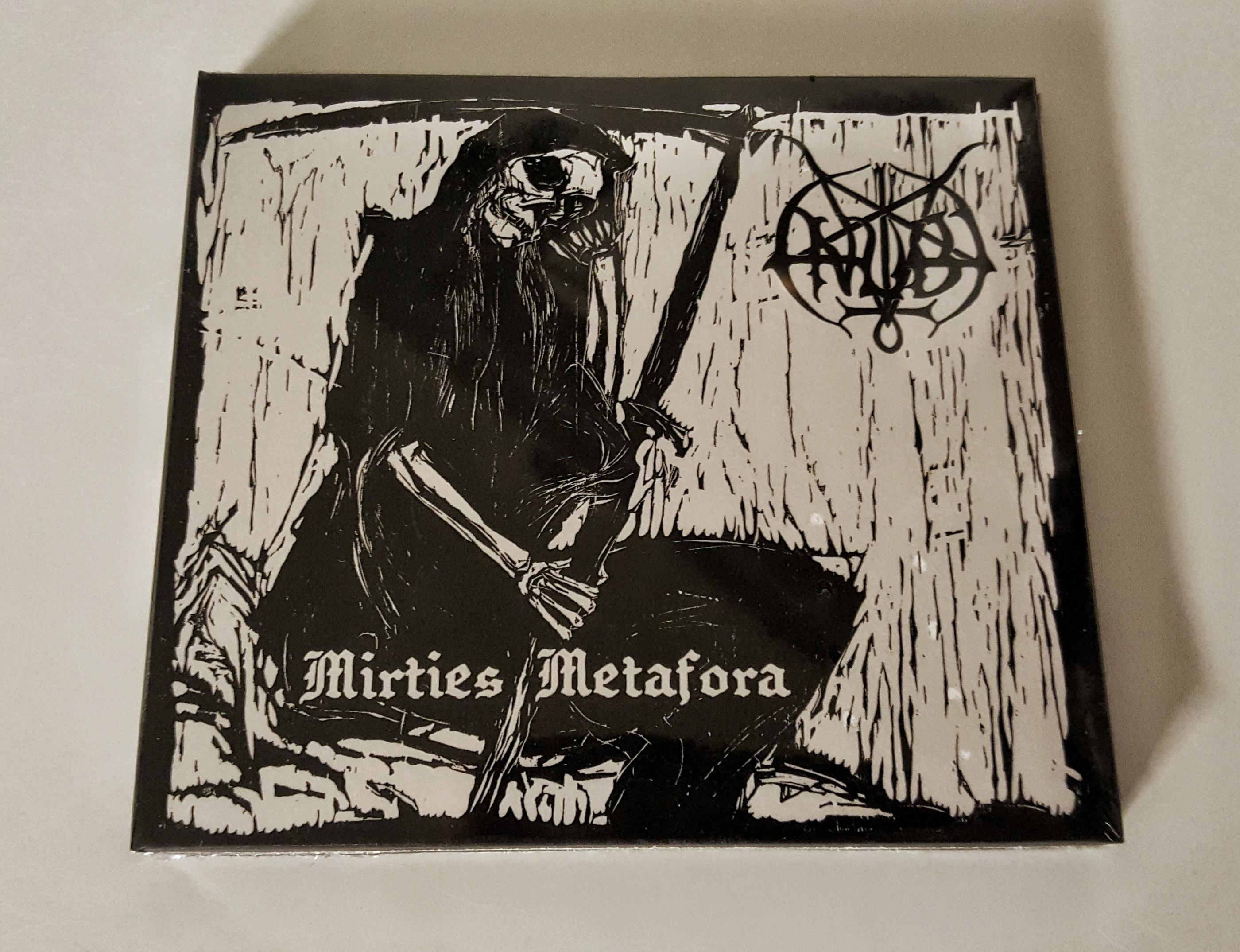 ANUBI - Mirties Metafora Digi CD