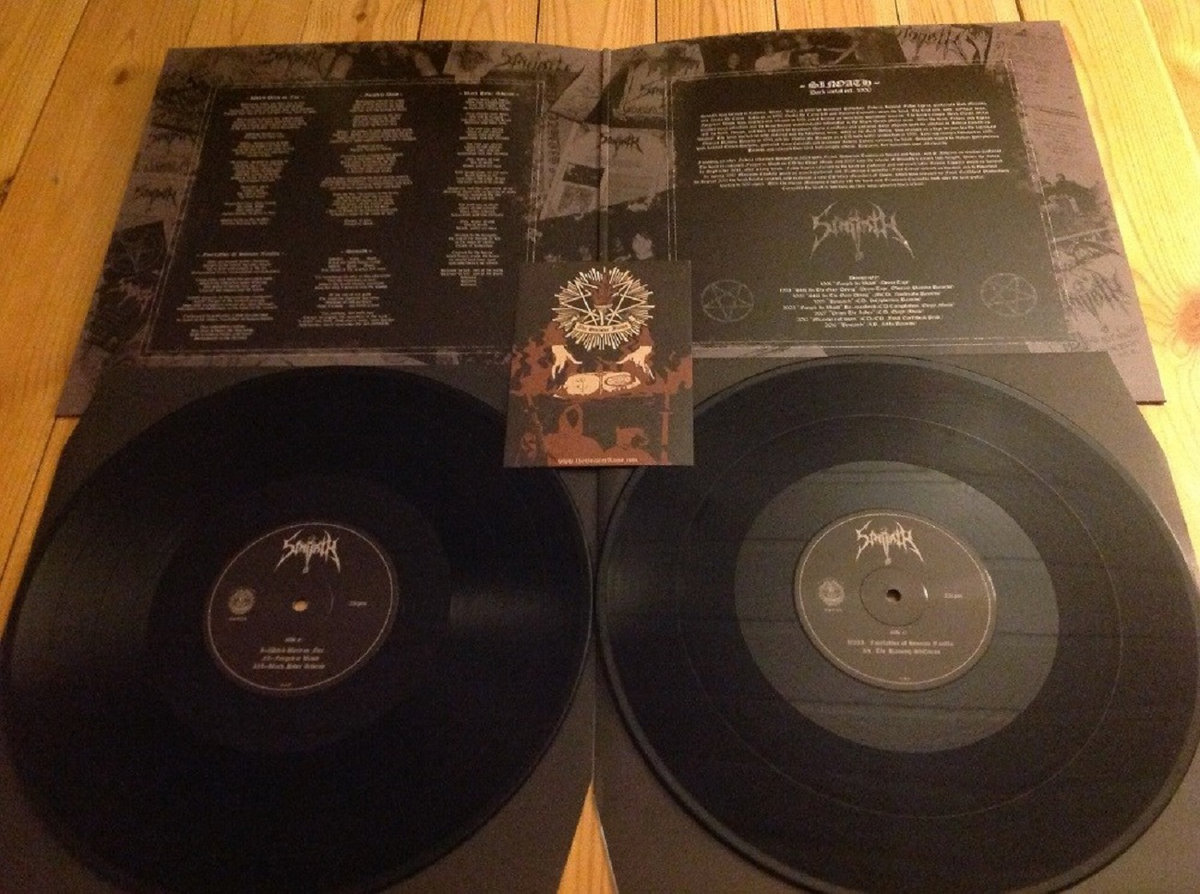 """SINOATH - Forged in Blood & Still in the Grey Dying 12"""" DLP"""