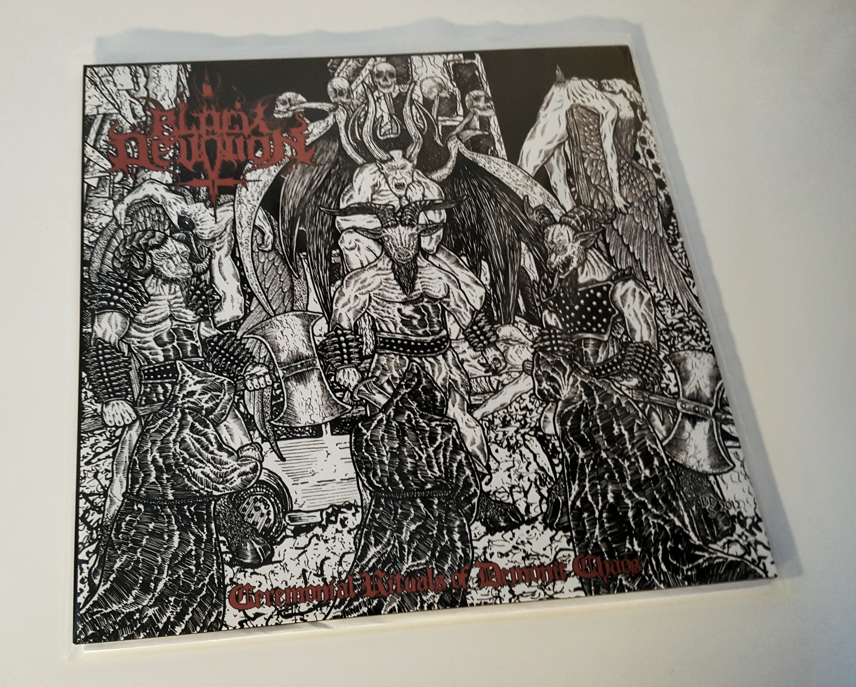 "BLACK DEVOTION – Cermonial Rituals of Demonic Chaos 12""LP"