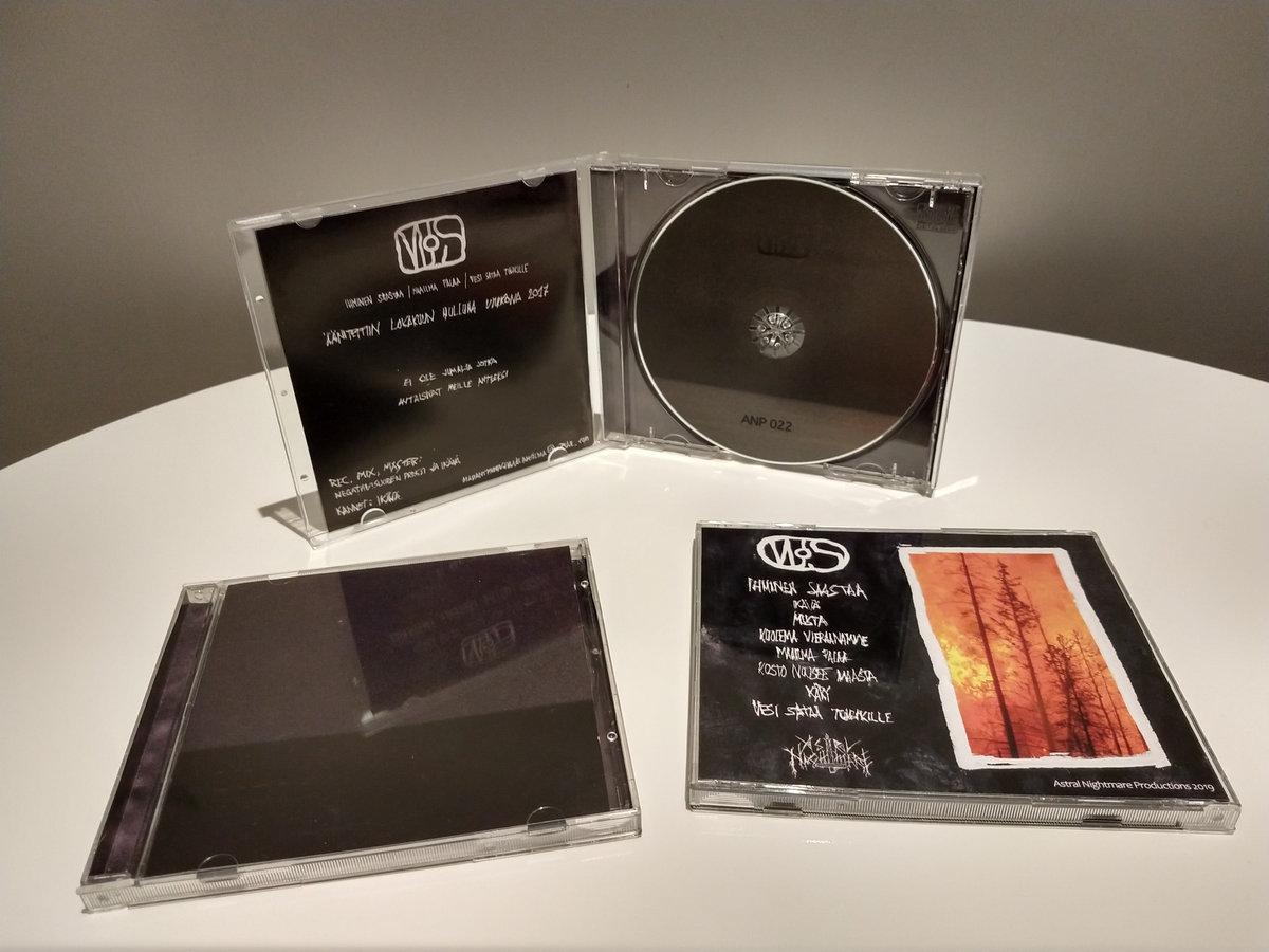 MJS: Mädäntyneen jumalan silmä – Ihminen Saastaa / Maailma Palaa / Vesi Sataa tuhkille CD
