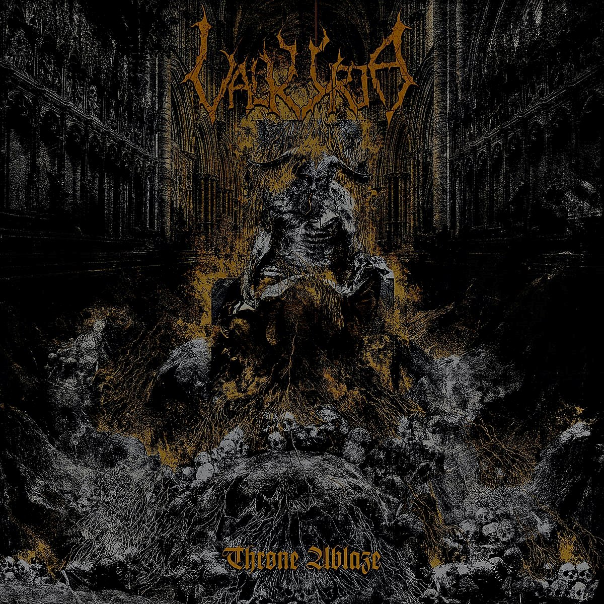 VALKYRJA - Throne Ablaze – CD