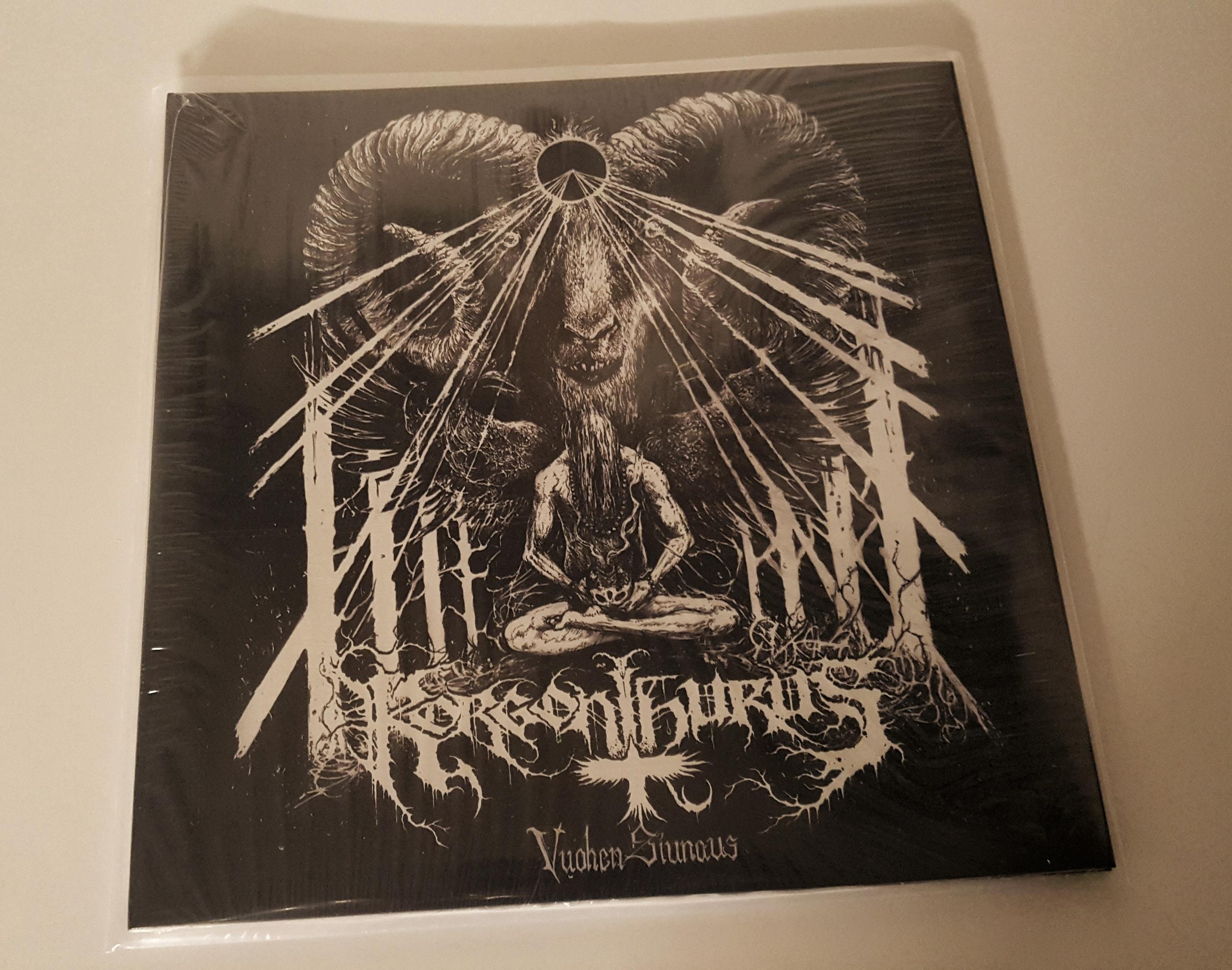 """KORGONTHURUS - Vuohen Siunaus 12"""" LP"""