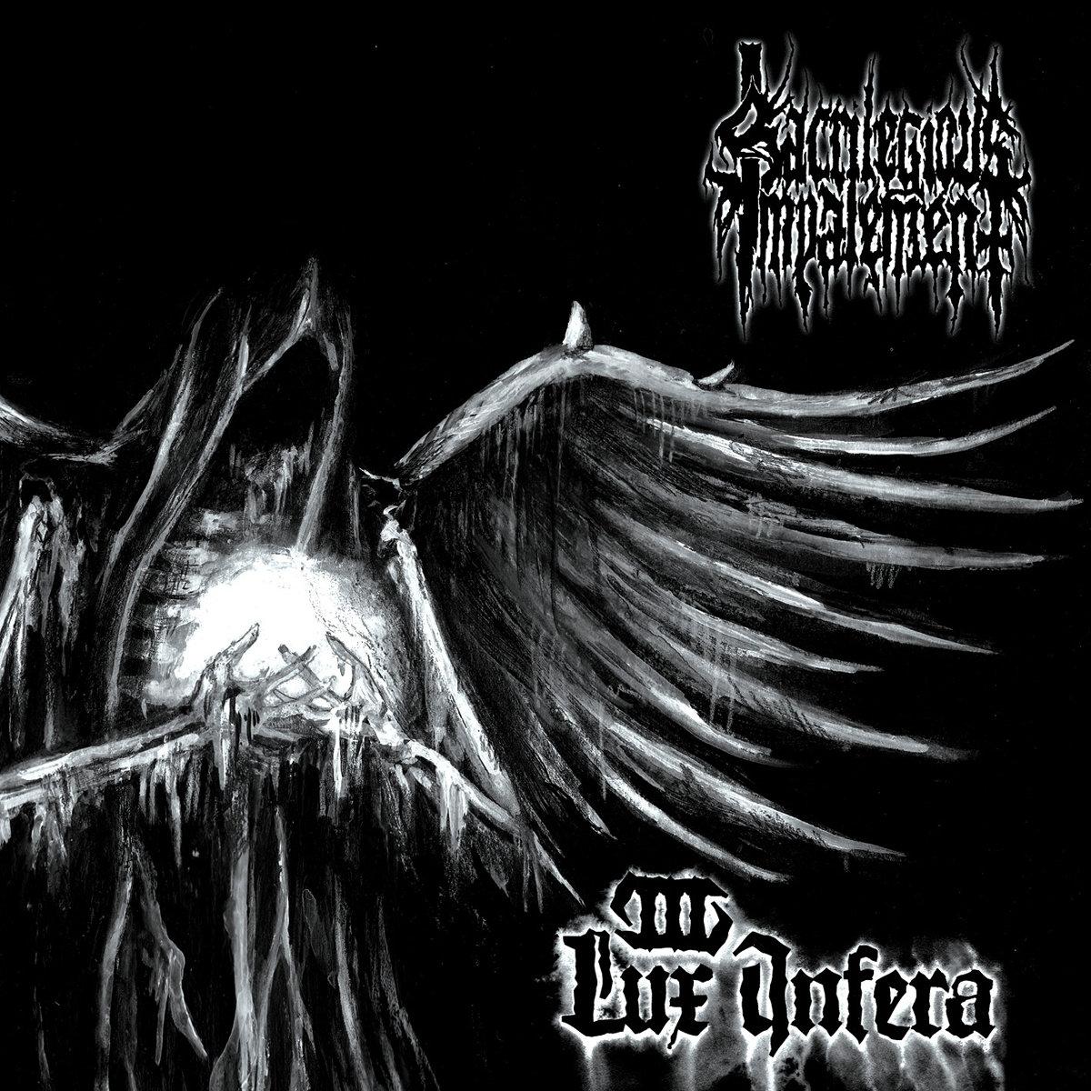 """SACRILEGIOUS IMPALEMENT – Lux Infera CD &12"""" LP"""