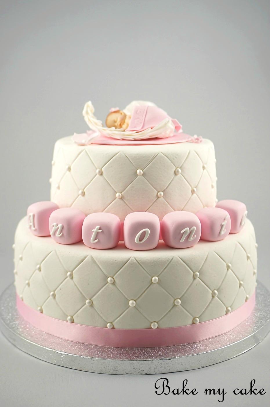 tårta med sugarpaste
