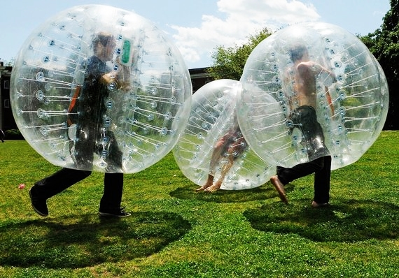 Bubbleball in Action!