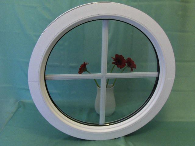 Fönster runda fönster : Fast runt fönster med spröjs | AlfaFönster