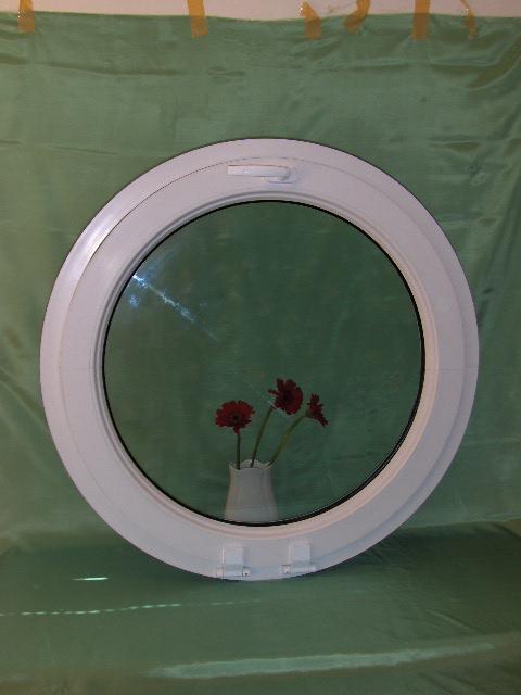 Fönster runda fönster : Öppningsbart runt fönster med klarglas | AlfaFönster