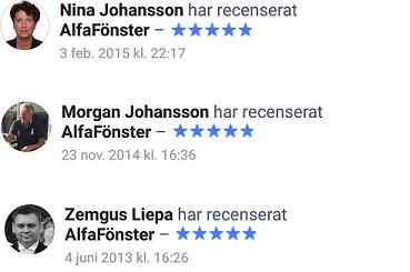 Recensioner av AlfaFönster