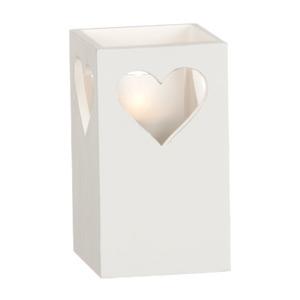 Ljuslykta Hjärta 15cm - Lykta hjärta