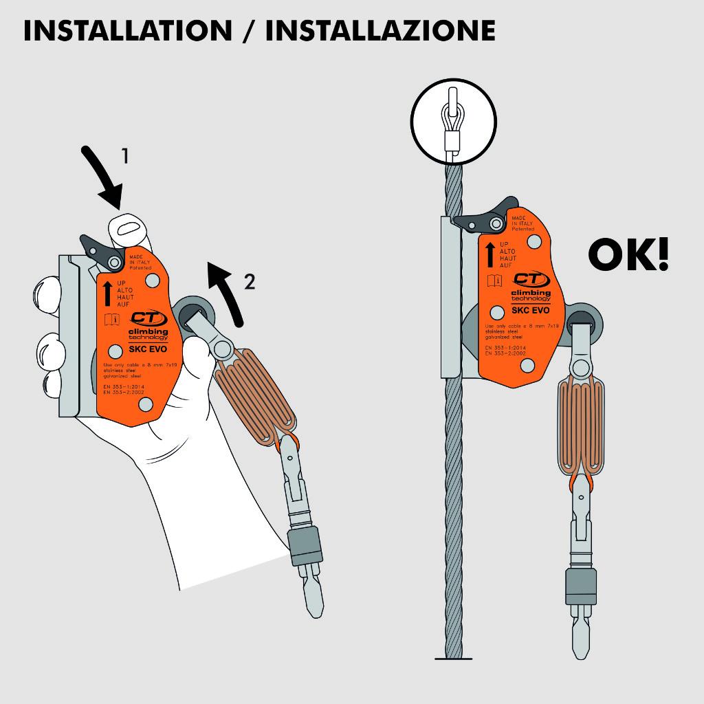 SKC-EVO-4F716K-installation