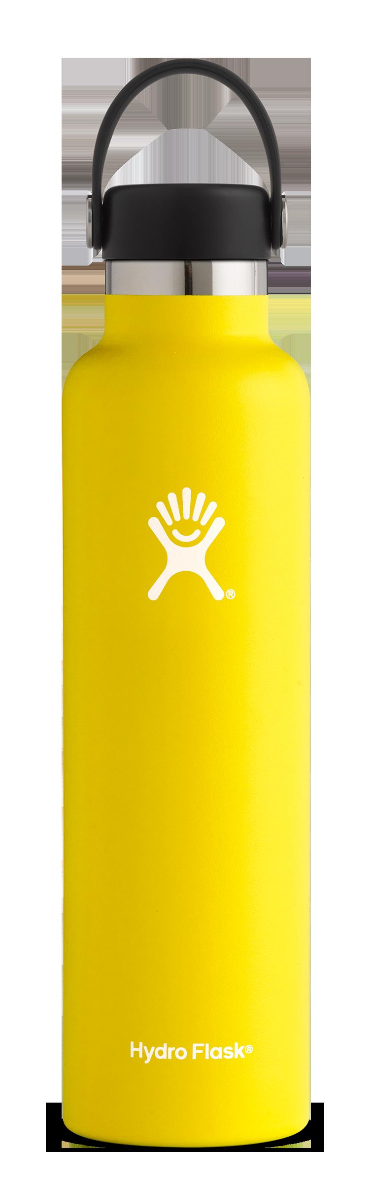 Hydro-Flask-24-oz-Standard-Mouth-Lemon