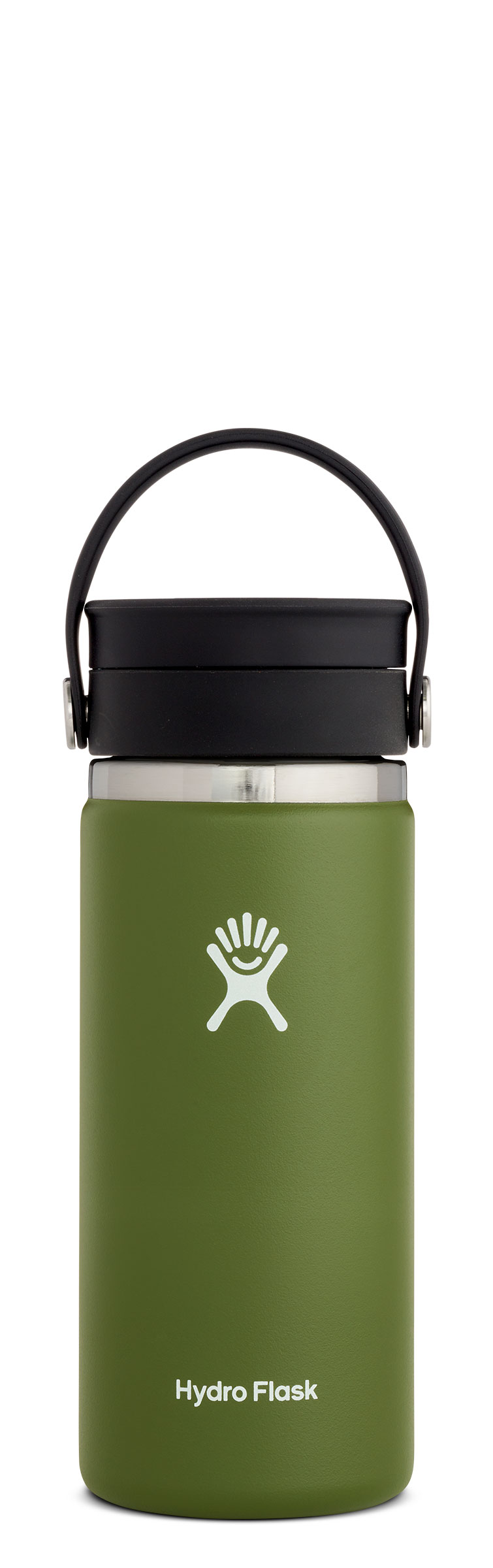 Hydro Flask 16 oz Wide Mouth Flex Sip Olive