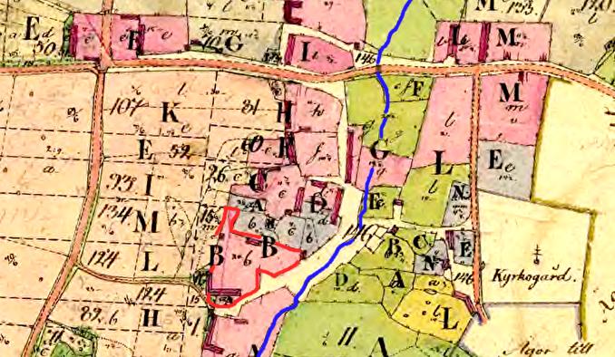 Karta med tillstånd av Lnatmäteriets Historiska kartor