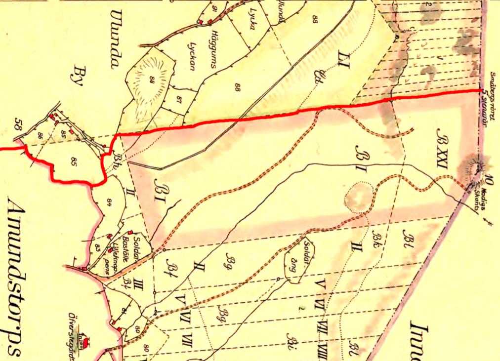 42e7a1d54a20 Ulunda 1794 öster - klicka på kartan för att se den större! Vänd så att