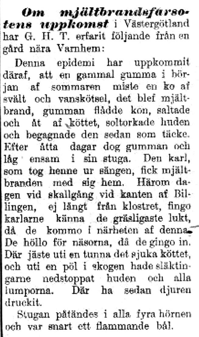Arbetet 1899-08-01 Mjältbrand 2