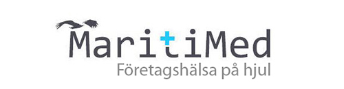 MaritiMed företagshälsovård på hjul i Halland & Västra Götaland mobil