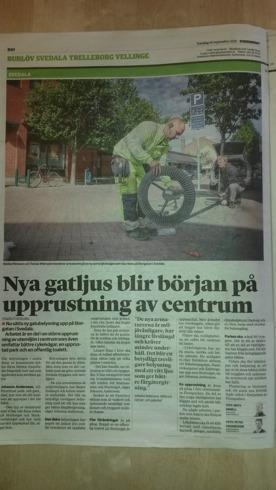 MSL i Sydsvenska Dagbladet