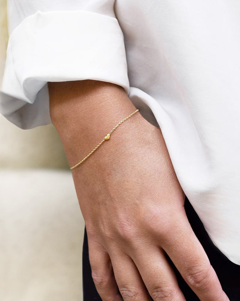 Loving-Heart-drop-bracelet-gold-2