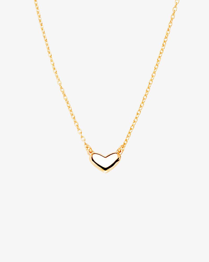 loving-heart-medium-single-necklace-gold