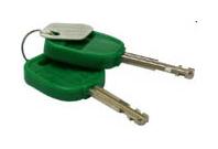 2 st extra nycklar till Combilock släpvagnslås