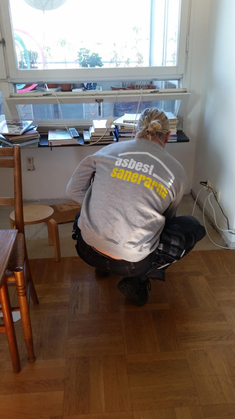 asbest provtagning stockholm