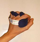 Posey Handkuddar - Posey handkudde med fingerskiljare liten 406560