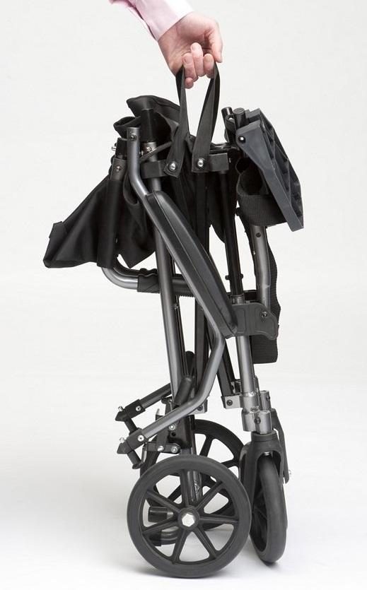 Rese Transport Rullstol ihopfälld