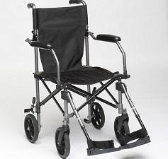 Transport rullstol ihopfällbar i väska - Transportrullstolhopfällbar i väska